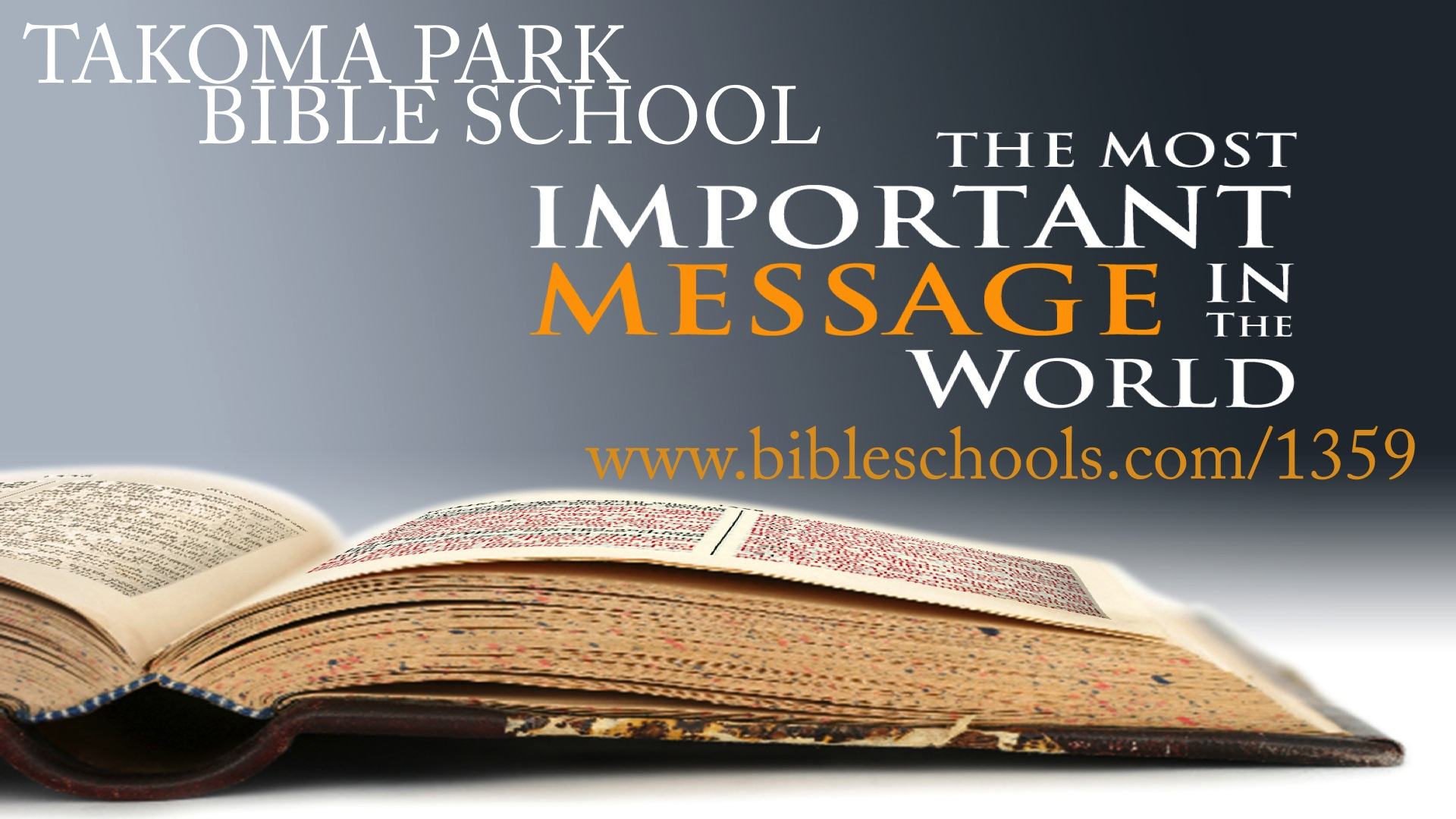 Takoma Park Bible School